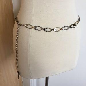 Accessories - Tri-tone Adjustable Chain Link Belt